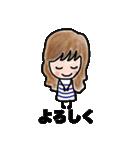 【カラフルさんの日常使えるスタンプ❷】(個別スタンプ:01)