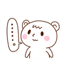 ピィとくまりす3(個別スタンプ:03)