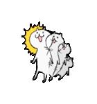 弱気なねこ男と強気なねこ子(日本語版)(個別スタンプ:14)