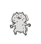 弱気なねこ男と強気なねこ子(日本語版)(個別スタンプ:26)