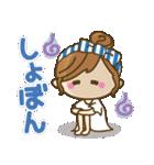 【夏だ♥海だ!】毎日つかえるゆるカジ女子(個別スタンプ:31)