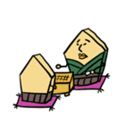 バイリンガルな将棋たち 日本語英語(個別スタンプ:14)