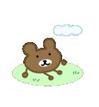 しらたま茶色熊(個別スタンプ:10)