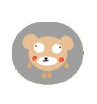 しらたま茶色熊(個別スタンプ:30)