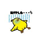 動く!トリ【ぴよちりの夏】(個別スタンプ:18)