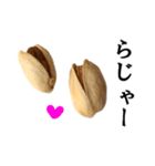 【実写】ピスタチオ(個別スタンプ:02)