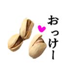 【実写】ピスタチオ(個別スタンプ:09)
