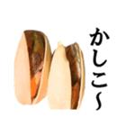 【実写】ピスタチオ(個別スタンプ:16)