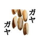 【実写】ピスタチオ(個別スタンプ:22)