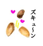 【実写】ピスタチオ(個別スタンプ:33)