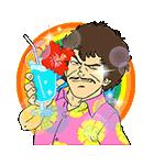 Dr.スランプ アラレちゃん夏休みスタンプ(個別スタンプ:4)