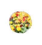 きれいめお花のスタンプ(個別スタンプ:01)