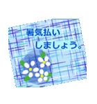 """夏にお薦めのスタンプ。""""涼""""(個別スタンプ:18)"""