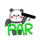 パンダ、趣味はゴルフ観戦。-part 2-(個別スタンプ:21)