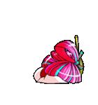 動くよ! 花魁ライフ2(個別スタンプ:5)