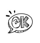 ▶動く♪チョークアート風スタンプ(個別スタンプ:02)