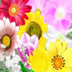 花とかです。