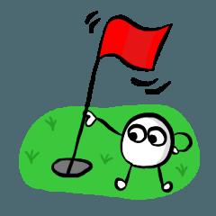 ゴルフボール★ゴル太郎