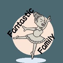 fantastic family 4 (ordinary) (Japanese)