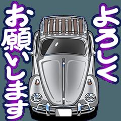 動く!車(かぶと虫)クルマバイクシリーズ