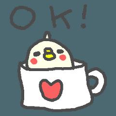 <英語>インコさんpop cute duck