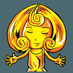 黄金の女神様