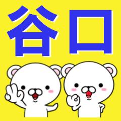 超★谷口(たにぐち・タニグチ)なクマ