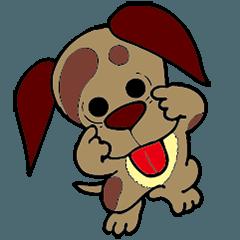 子犬のパフ