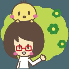 アイちゃんとピヨ2【ゆる敬語】