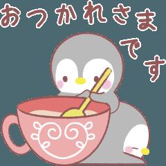 動く❤️メッセージぺんぎん❤️北欧&敬語
