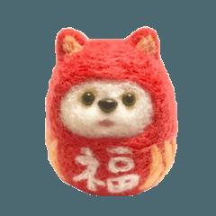 ぷくちゃん ダルマ猫