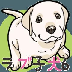 わんこ日和ラブラドールの仔犬 6