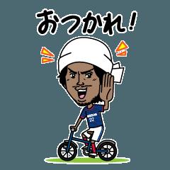 横浜F・マリノス 選手スタンプ2017 Ver.