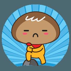 [LINEスタンプ] Mr. Pokemonster Brown バージョン XY