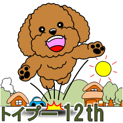トイプードルの日常挨拶(第12弾)