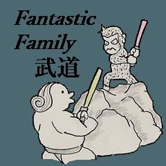 "fantastic family ""Budo"""