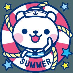 動く夏クマだね!