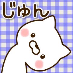 ☆じゅん☆さんのお名前スタンプ