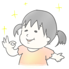 完全手描き赤ちゃん 1歳