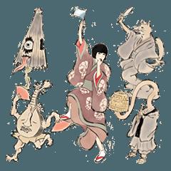 椎名林檎 『百鬼夜行2015』記念スタンプ