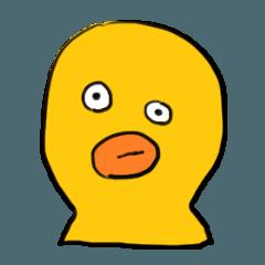 p-duckスタンプ