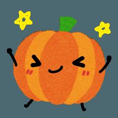 Pumpkin's sticker (Thai)
