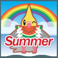 梅雨&夏に使える〜ほっぺがキュート