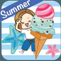 大人女子の日常【夏だ!リゾートだ♥】