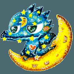 夜空ドラゴン
