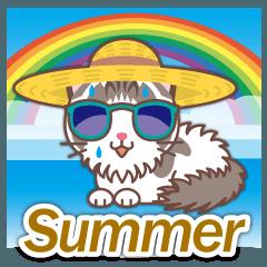 梅雨&夏に使える〜ふわふわのラグドール