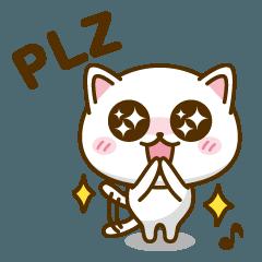 おしゃべりネコのタマ。 (英語版)