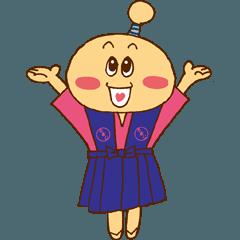 上野原市公式キャラクター たまじまる