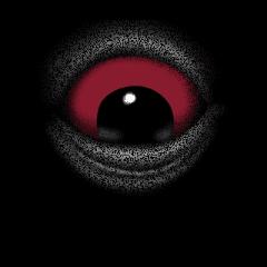 闇から出てくる!単眼妖怪<●>