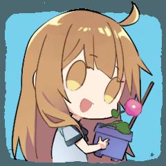 [LINEスタンプ] なつのこ (1)